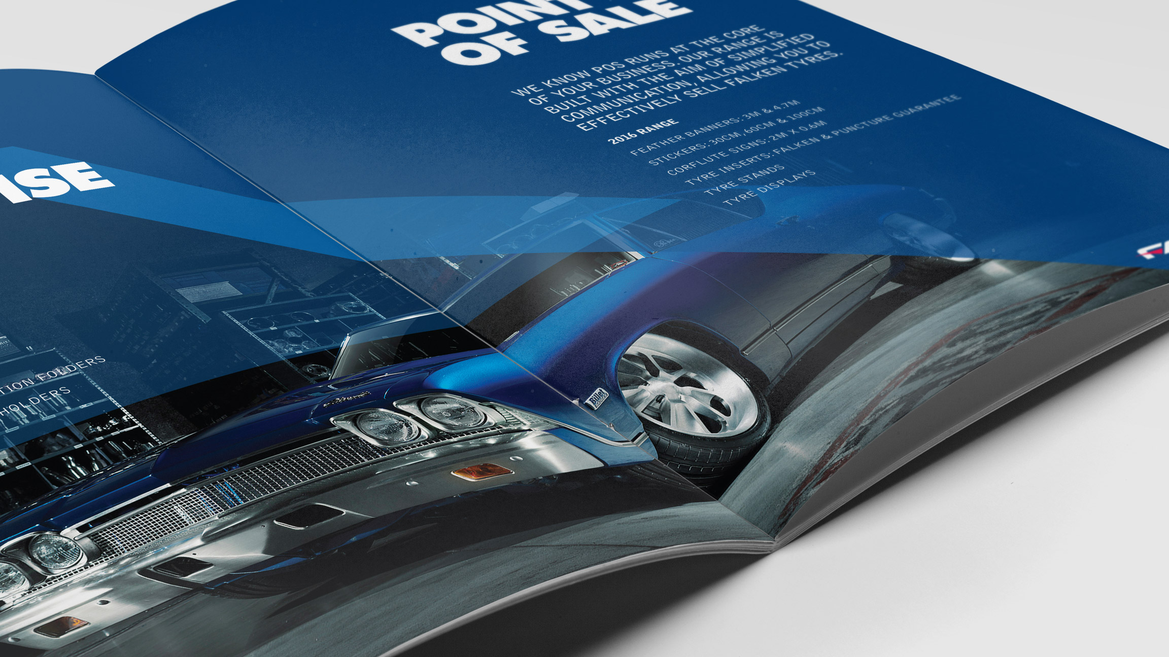 Graphic Design for Falken Australia