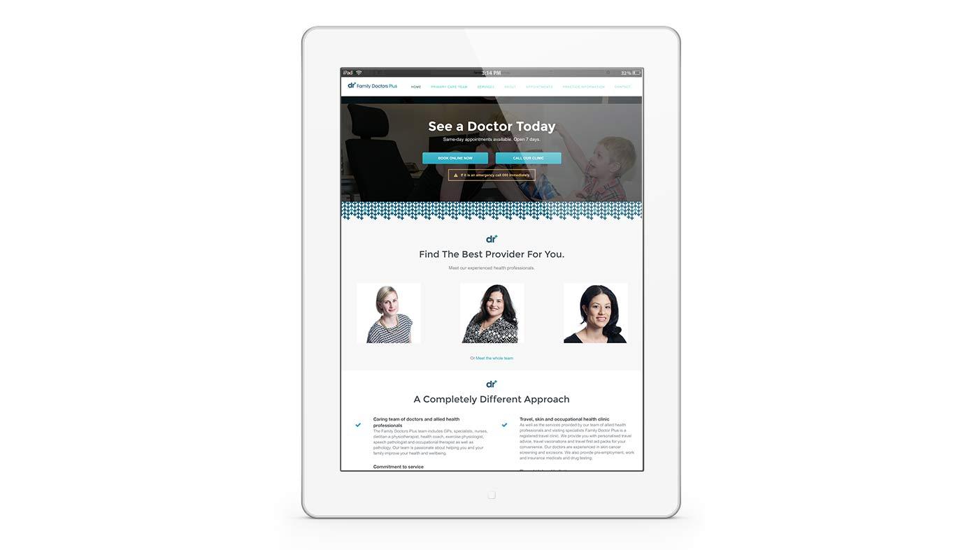 Website Design and branding for Doctors