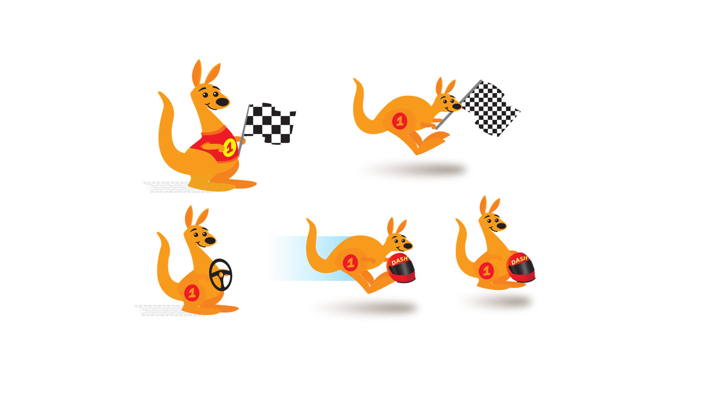 Graphic Design for Rally Australia
