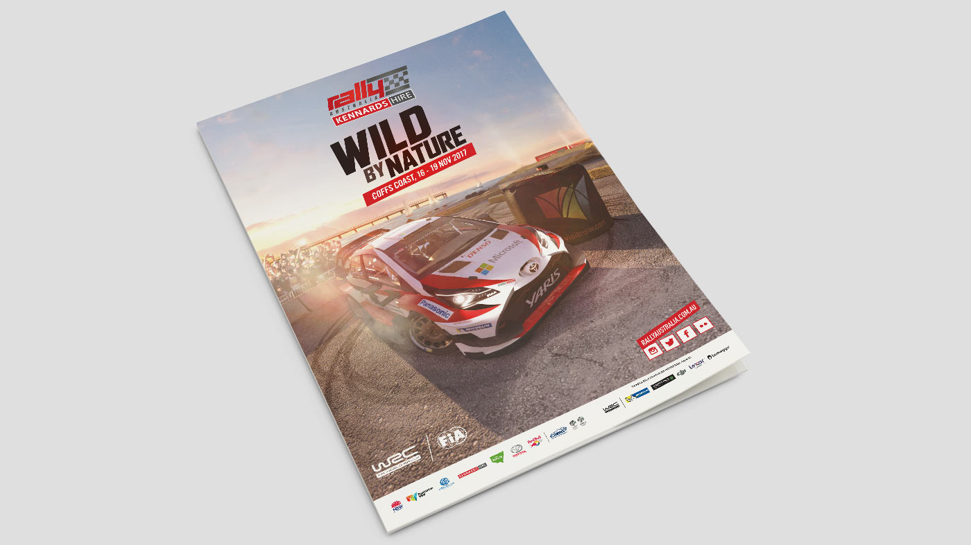 Graphic Design for Rally Australia